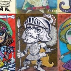 2010 Cotignyork Pieghevole con il programma - bianca disegni di Massimiliano Fabbri