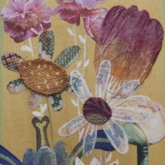 Fiori, 2010, tecnica mista su tavola, cm 27x18, collezione privata, ph: Stefano Tedioli