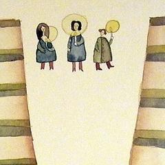 15 dicembre, 2006 tecnica mista su carta, collezione privata