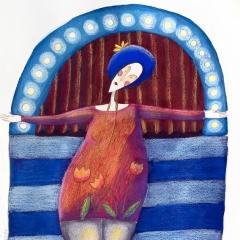 For you, 2006 tecnica mista su carta, collezione privata