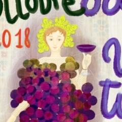 Manifesto festa dell'uva a Cotignola
