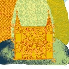 Litografia per il trentennale delle Feste medioevali di Brisighella