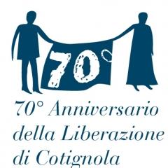 Marchio per il 70° anniversario della liberazione di Cotignola