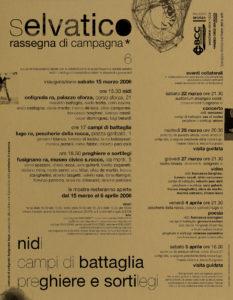 2008locandinaselvatico6nidi_campidibattaglia_preghiereesortilegi