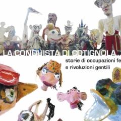 2008 Cotignyork Pieghevole con il programma - bianca Pupazzi realizzati alla Scuola Arti e Mestieri
