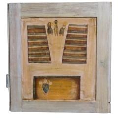 15 dicembre, 2005, tecnica mista su tavola, cm 53x50, collezione privata, ph: Stefano Tedioli