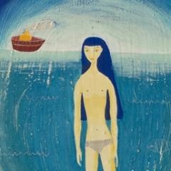 Cala fuili, 2008, tecnica mista su tavola, cm 47x35,5, collezione privata, ph: Stefano Tedioli