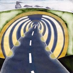 Tunnel, 2006 tecnica mista su carta
