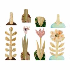Il giardino inventato, illustrazioni digitali