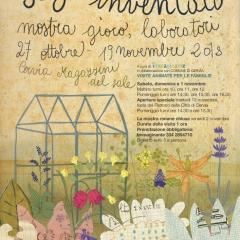 Il giardino inventato, immagine coordinata: manifesto