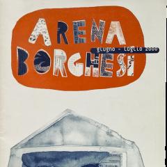 Copertina per il programma dell'Arena Borghesi 2000