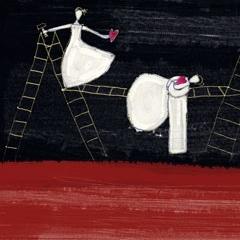 Ay l'amor - illustrazione per pieghevole