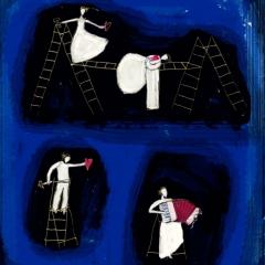 Ay l'amor - illustrazione per locandina