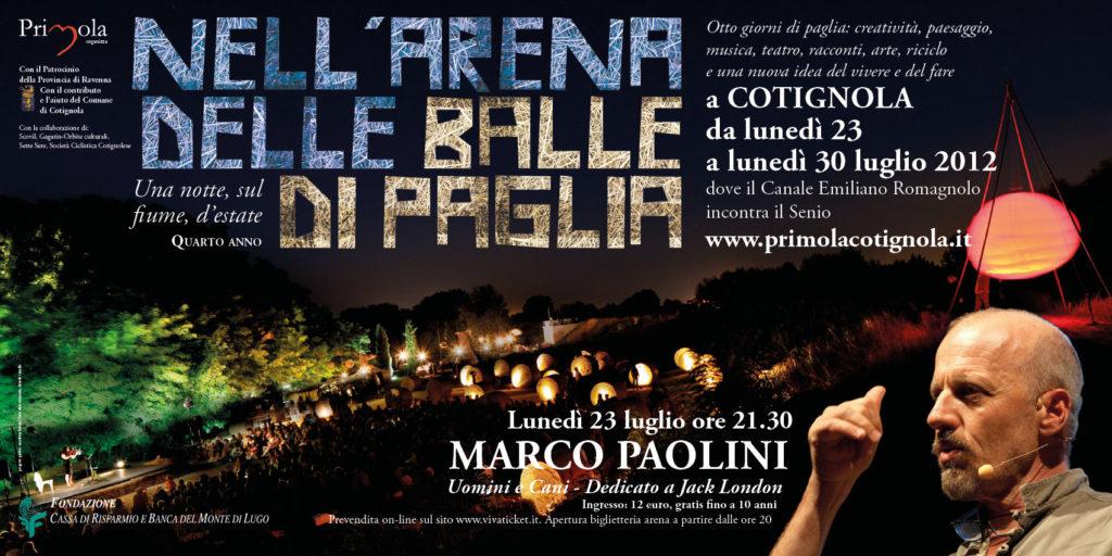 2012 Arena delle balle di paglia manifesto 6x3