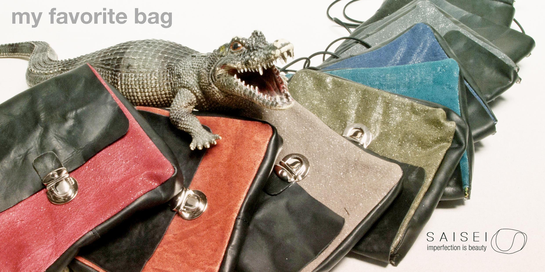 Saisei bags spring/summer 2016
